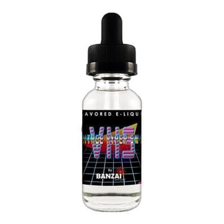 Жидкость для электронных сигарет Banzai: VHS 20 мл