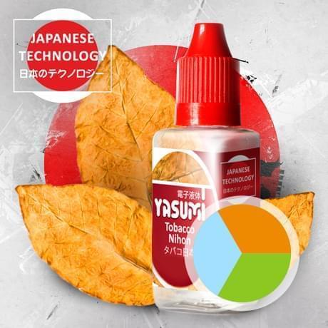 Табачная жидкость для электронных сигарет, Города Yasumi, Tobacco Nihon