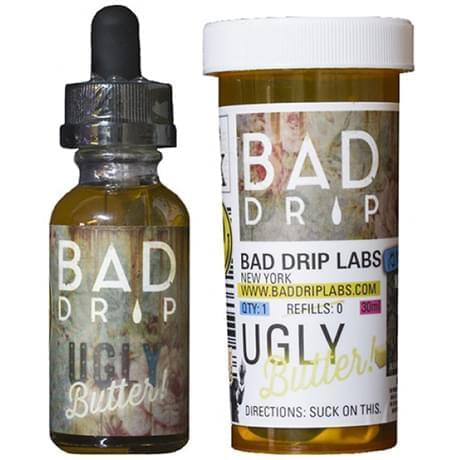 Премиум жидкость  Bad Drip: Ugly Butter 15 мл