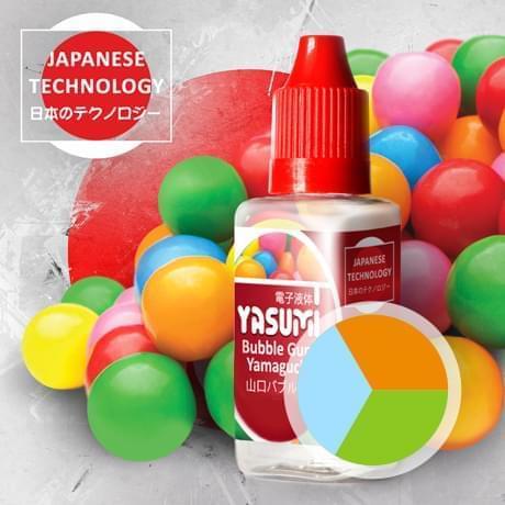 Экслюзив жидкость для электронных сигарет Ясуми (Япония), Города Yasumi, Bubble Gum Yamaguchi, жидкость для электронных сигарет 30мл купить в Украине