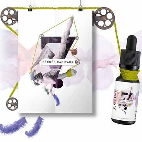 Жидкость для электронных сигарет Phode - 7 peches capitaux - Luxure 20 мл
