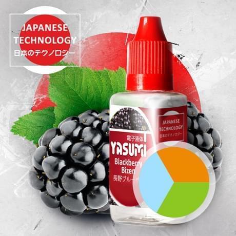 Фруктовая жидкость для электронных сигарет Ясуми (Япония), Города Yasumi, Blackberry Bizen