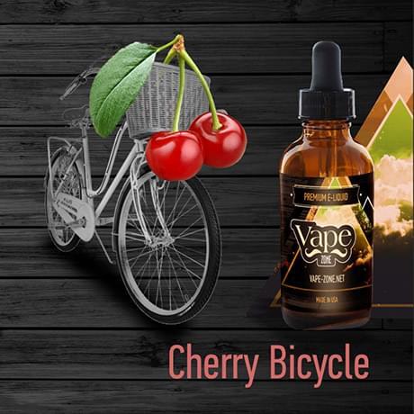 Жидкость для электронных сигарет Vape Zone: Cherry Bicycle 30 мл