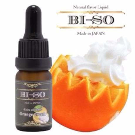 Жидкость для электронных сигарет BI-SO: Orange cream 10 мл
