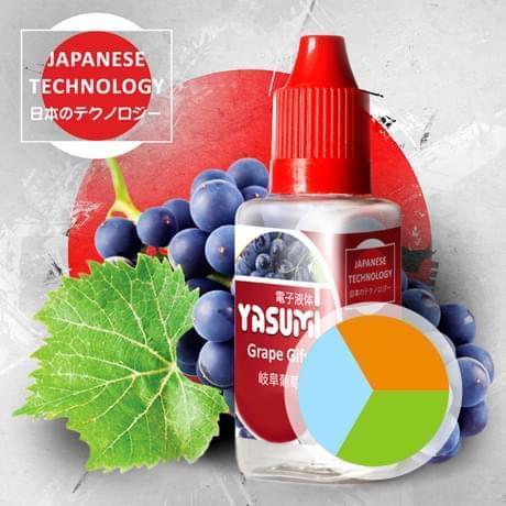 Жидкость для электронных сигарет Yasumi Виноград Гифу (Ясуми)